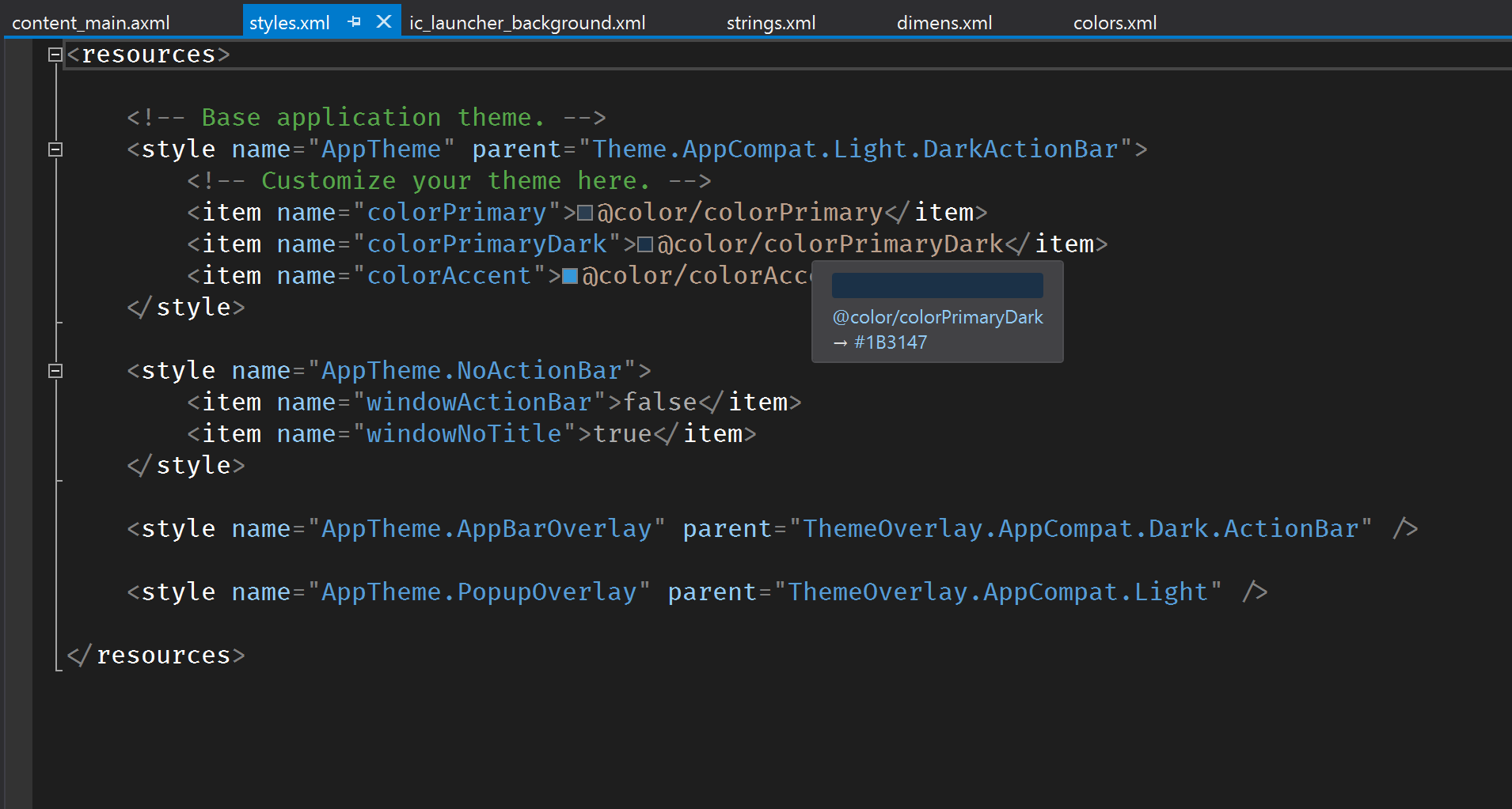 What's new with the Android Designer in Visual Studio 2019